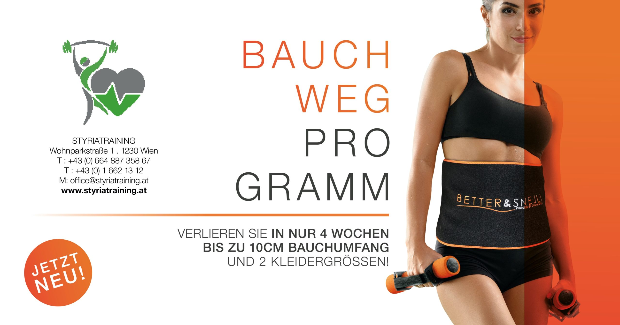 Bauch weg Programm Styria Training